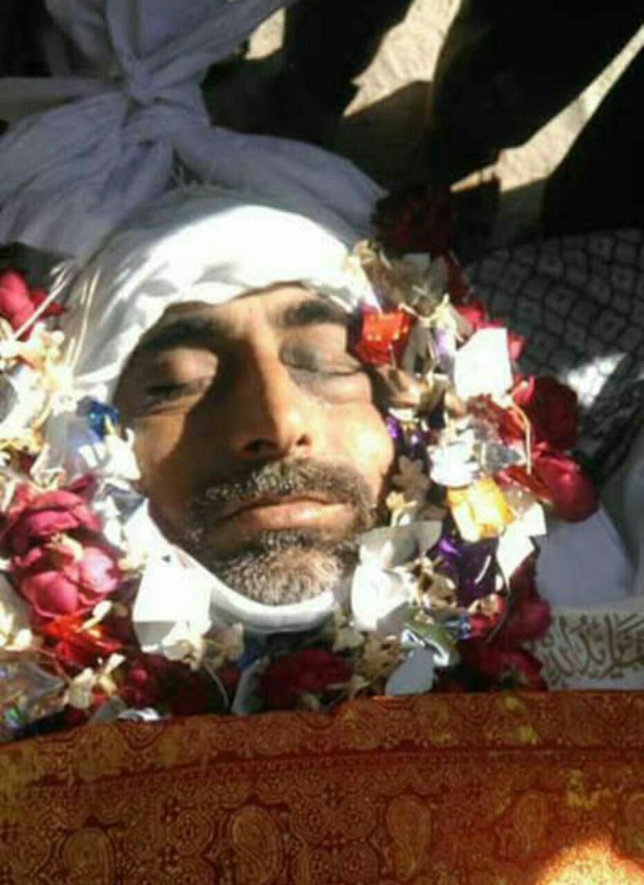 Photo of Shia poet martyred in DeraIsmail Khan