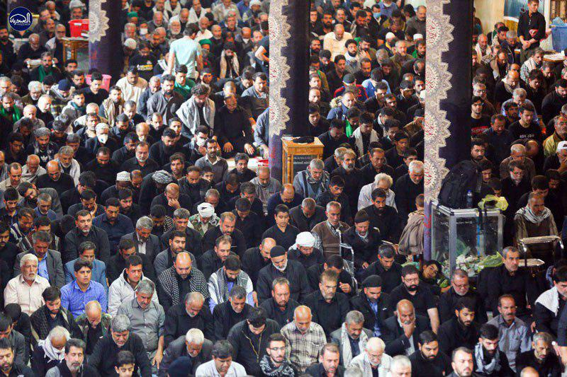 Photo of Millions of pilgrims flock to holy Samarra to mark Imam Hassan al-Askary's martyrdom anniversary + Pictures