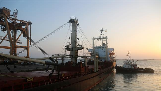 Photo of 1st aid ship enters Yemen's port after three-week blockade: Official