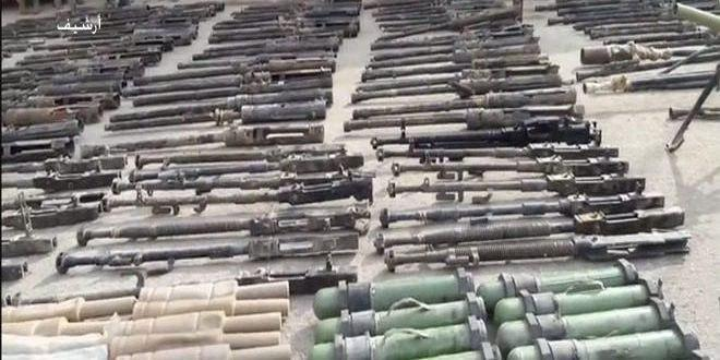 Photo of Syrian Army discovers US, European weapons in Deir Ezzor