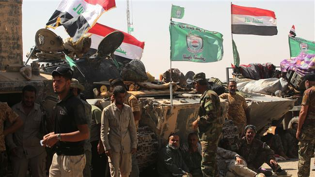 Photo of Iraq's Hashd al-Sha'abi forces deployed to Syrian border to back army: Commander