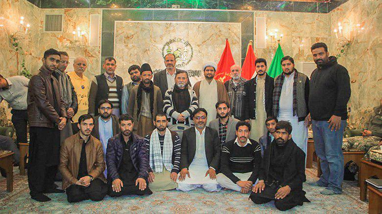 Photo of Islamabad's Cultural Week's contests winners arrive at Imam Hussein Shrine