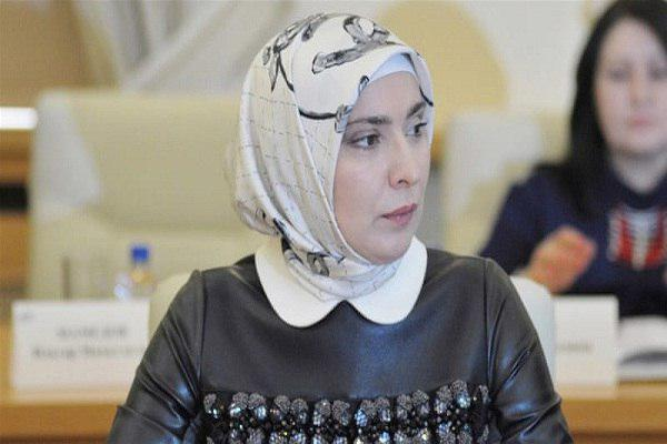 Photo of Muslim woman challenging Putin in upcoming presidential election
