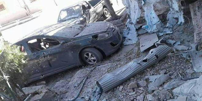 Photo of Two injured due to attacks on Harasta suburb and al-Dwelaa neighborhood