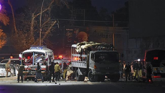 Photo of Bomb hits police vehicle in Pakistan's Balochistan, 7 killed