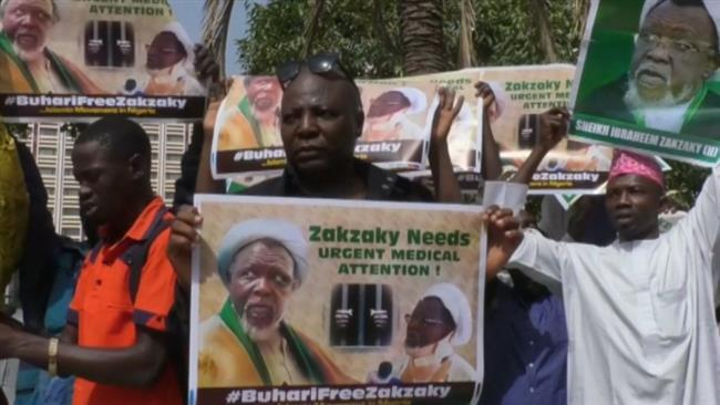 Photo of Nigerian protesters call for release of Zakzaky