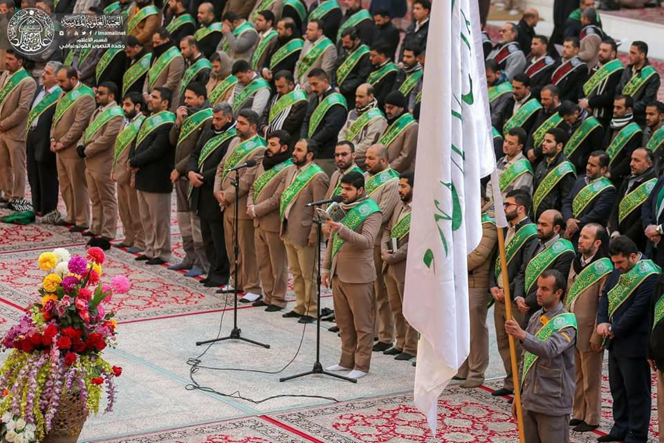 Photo of Photos: Servants of Imam Ali, peace be upon him, Holy Shrine celebrate the birth anniversary of Lady Zaineb, peace be upon her.
