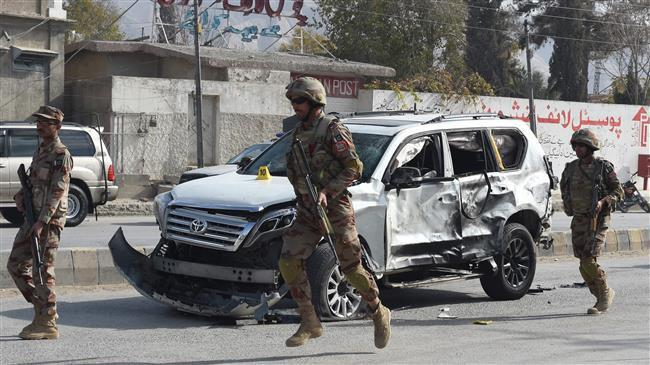 Photo of Taliban-claimed bombing kills 11 soldiers in northern Pakistan