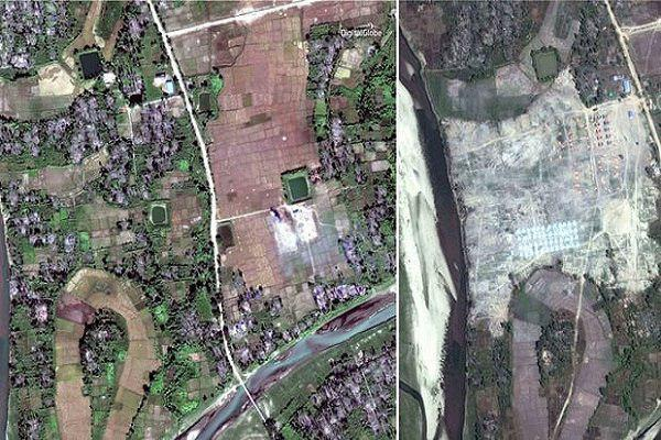 Photo of Myanmar Erases 55 Rohingya Muslim Villages to Cover Up Crimes against Humanity