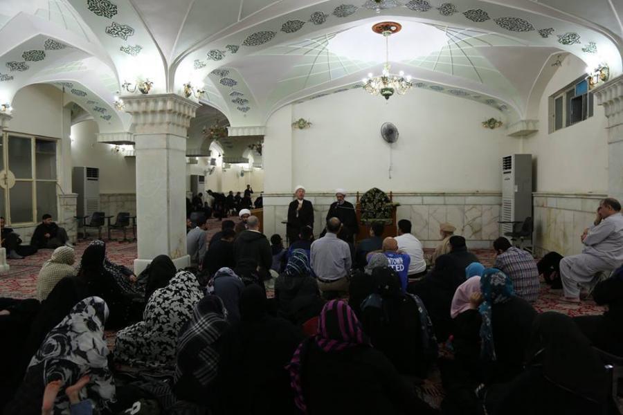 Photo of American delegation visits Imam Ali holy shrine in Najaf + Photos