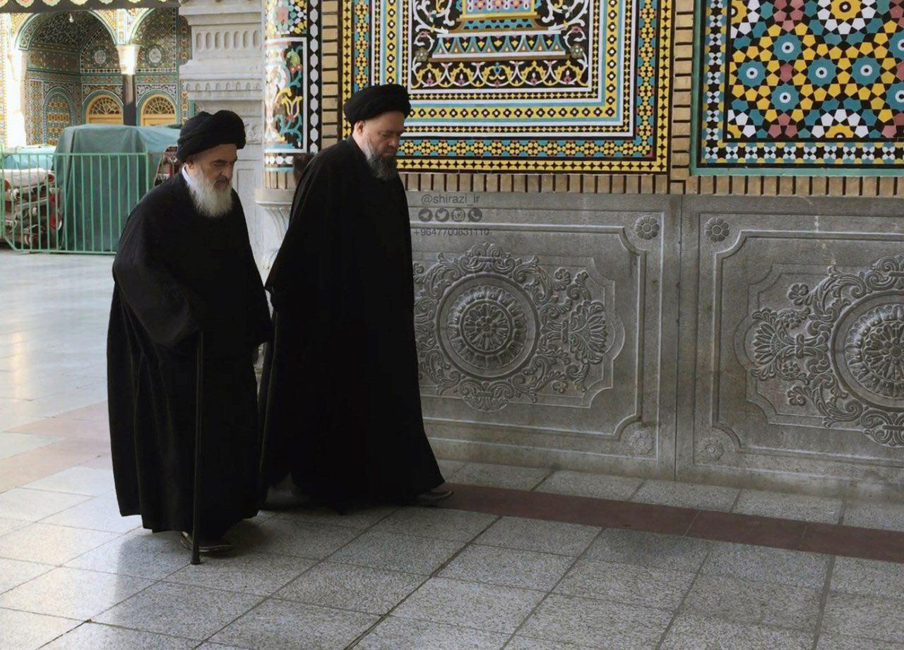 Photo of In an unprecedented incident, and for the first time the history of Iran … Iranian authorities intercept Grand Ayatollah Shirazi's and lead his son to an unknown destination