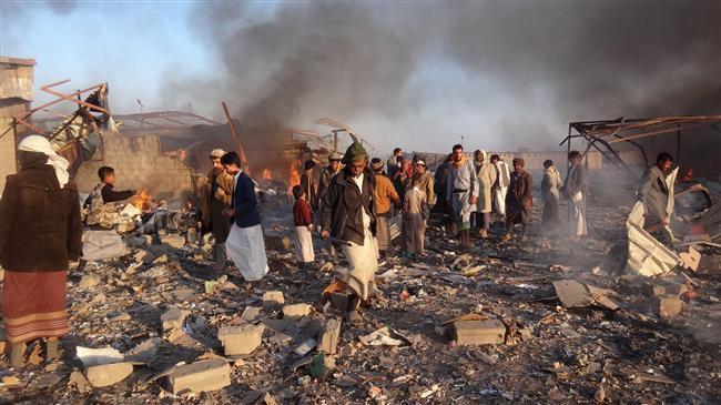 Photo of Saudi-led strikes kill 9 Yemeni civilians
