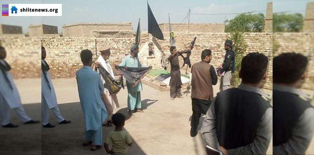 Photo of ASWJ terrorists attack a Husseineyah in Dera Ismail Khan's Kolachi Tehsil