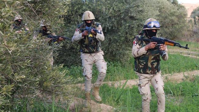 Photo of Egypt military says 36 Daesh terrorists killed in Sinai clashes