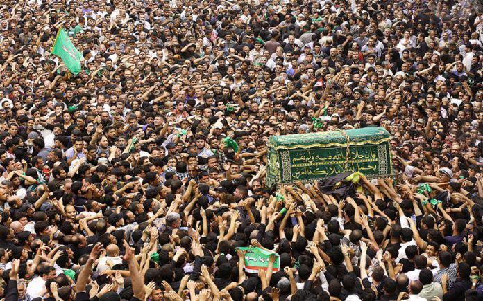 Photo of Shia Muslims mourn Imam Kadhim's martyrdom anniversary