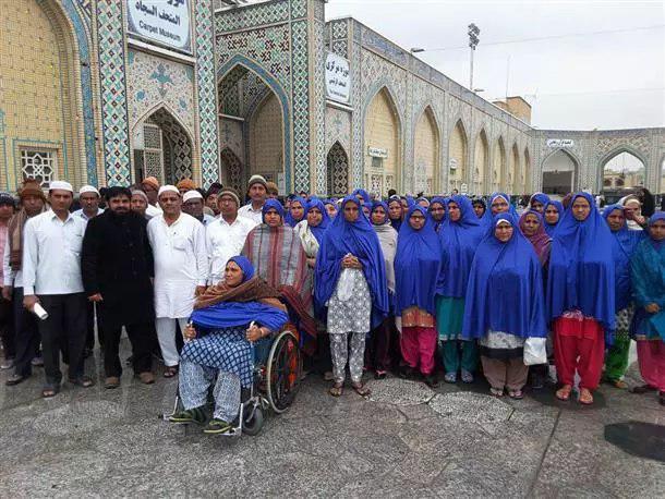 Photo of 200 Indian pilgrims visited Imam Ridha Holy Shrine