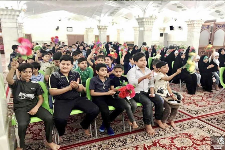 Photo of Imam Ali shrine hosts over four thousand students for its preaching program