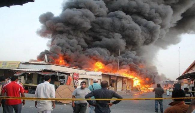 Photo of Bomb explosion rocks Iraq's Diyala, leaves casualties from one family
