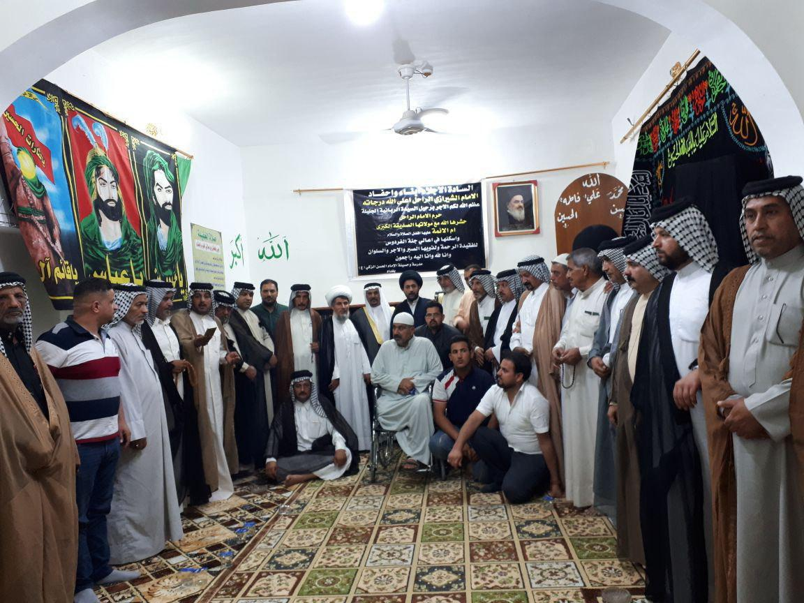 Photo of A memorial ceremony was held over death of Late Grand Ayatollah Shirazi's wife