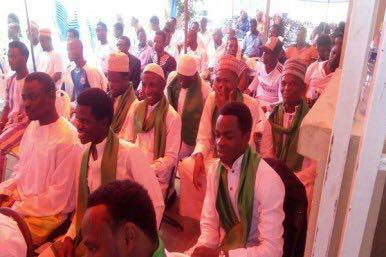 Photo of Seminarians graduate from Imam Sadeq Seminary in Ghana