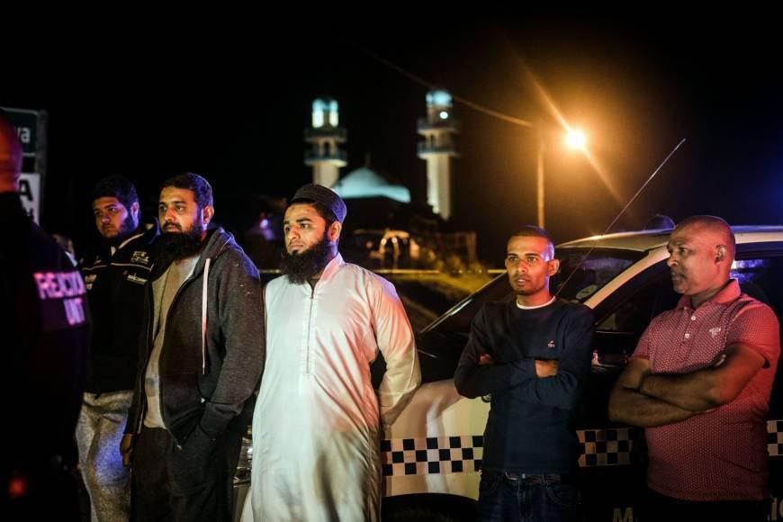 Photo of Apparent bomb found at South African Shia mosque days after deadly knife attack