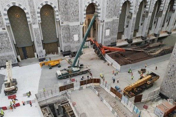 Photo of Crane collapses in Mecca Grand Mosque