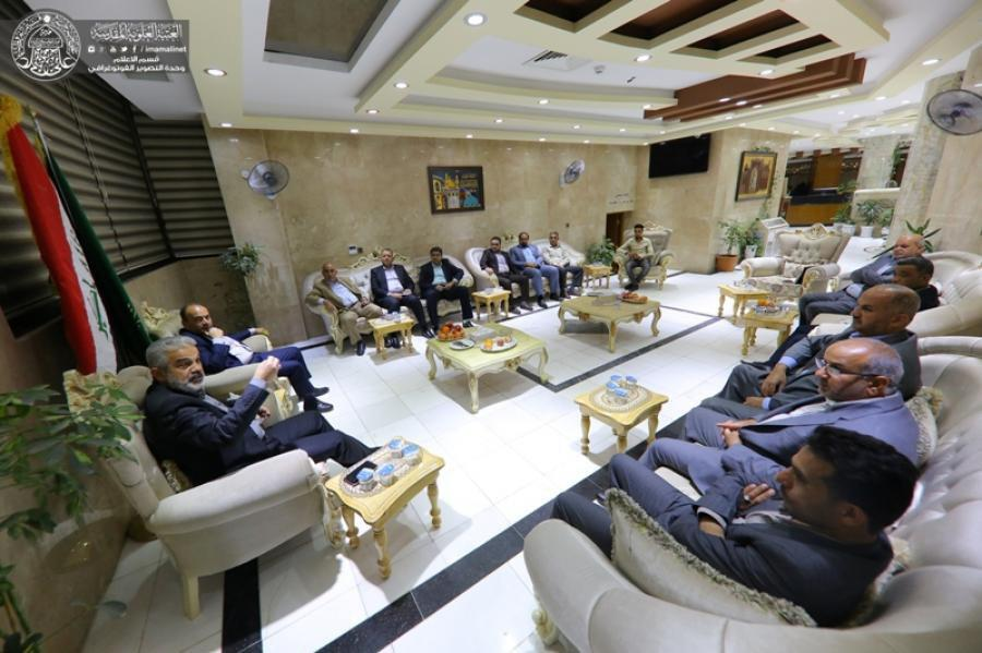 Photo of Imam Ali Shrine and El-Abbas Shrine discuss agricultural projects