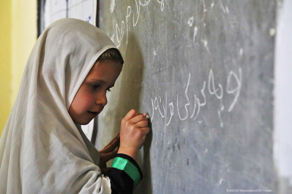 Photo of Ongoing conflict leaves nearly half of children in Afghanistan out of school: UNICEF