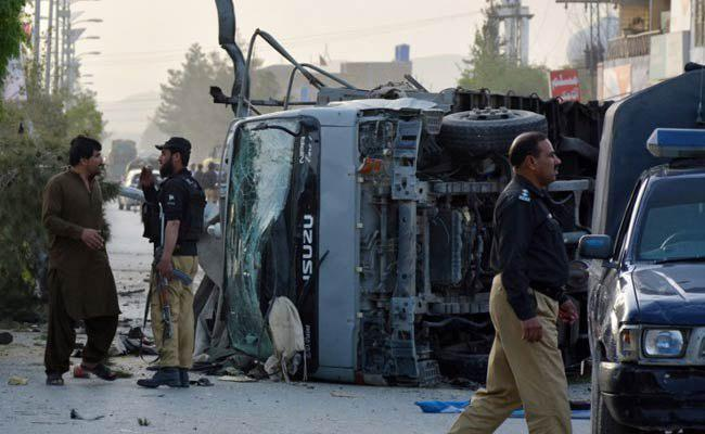 Photo of 3 security personnel killed in suicide attack in SW Pakistan