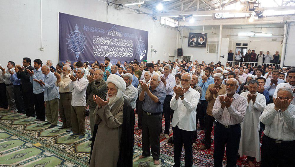 Photo of Thousands unite in Karbala to perform Eid prayer
