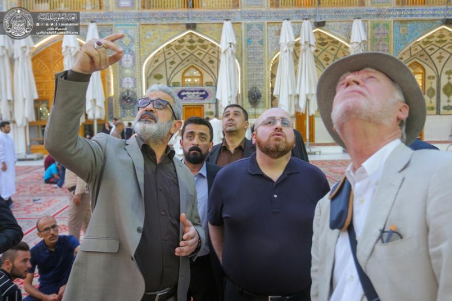 Photo of SG of Imam Ali shrine meets representatives delegation of Italian companies
