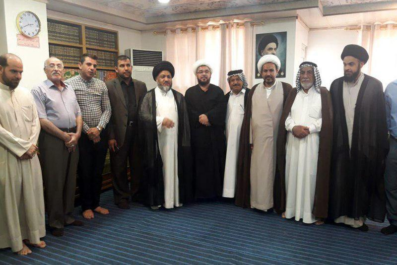 Photo of Managers of cultural and religious centers visit Grand Jurist's Office in holy Najaf