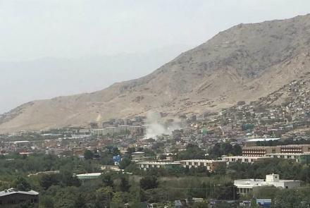 Photo of Three wounded in Kabul rocket attack