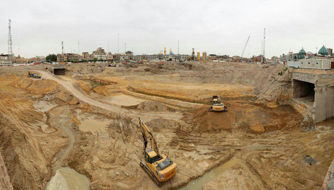 Photo of Advancement in Eleqeeleh Zaineb Shrine project still underway