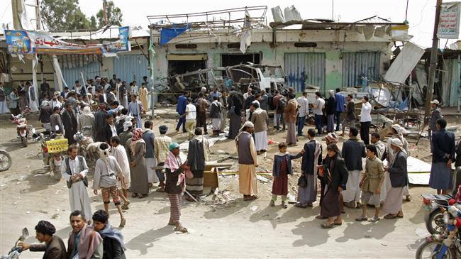 Photo of Saudi warships strike northwestern Yemeni village, six civilians dead