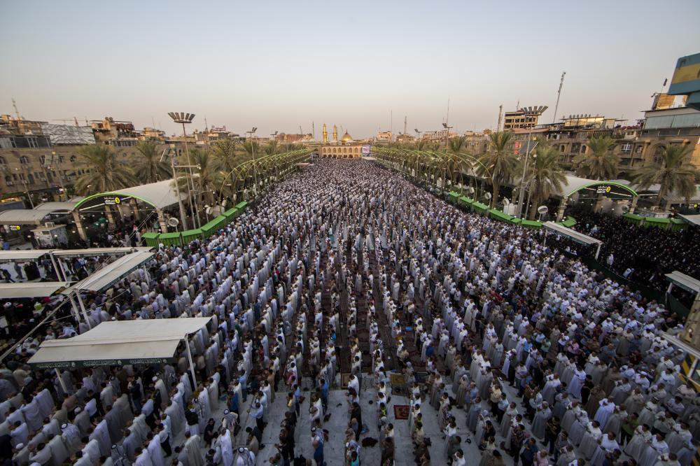 Photo of Ahl al-Bayt followers in different parts of the world celebrate Eid al-Adha