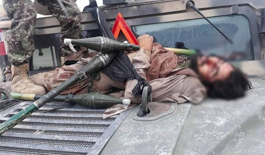 Photo of Suicide bomber killed, 4 accomplices arrested in Jalalabad city