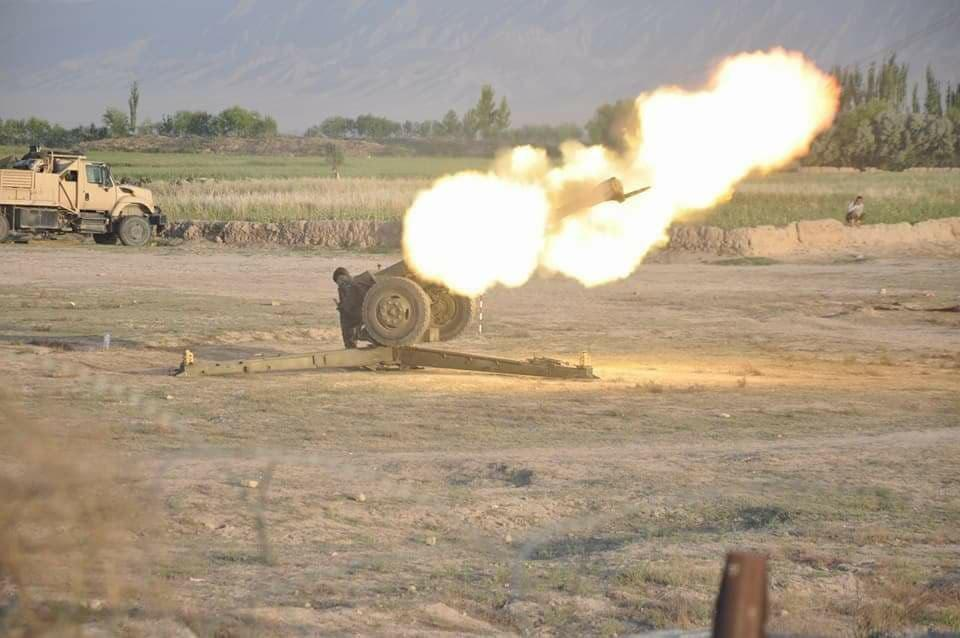 Photo of Militants suffer heavy casualties during separate clashes in Ghazni