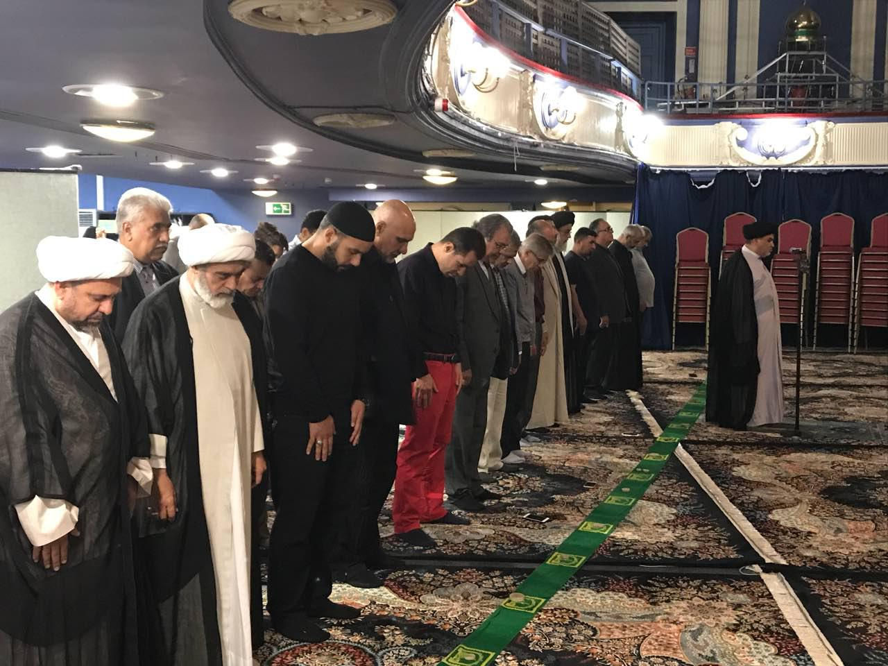 Photo of Photos: Eid al-Ghadir prayers at Husseiniyaht al-Rasool al-Atham in London, UK