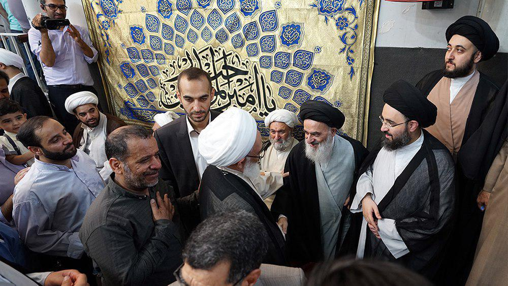 Photo of Photos: The honorable house of the Grand Ayatollah Shirazi celebrates Allah's Grand Eid, Eid al-Ghadir