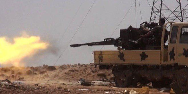 Photo of Syrian Army destroys rocket launching pads for terrorists in Hama