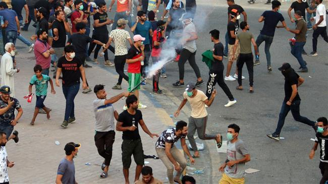 Photo of Death toll of Iraqi protests rises to 10 amid an angry protests that continued for days