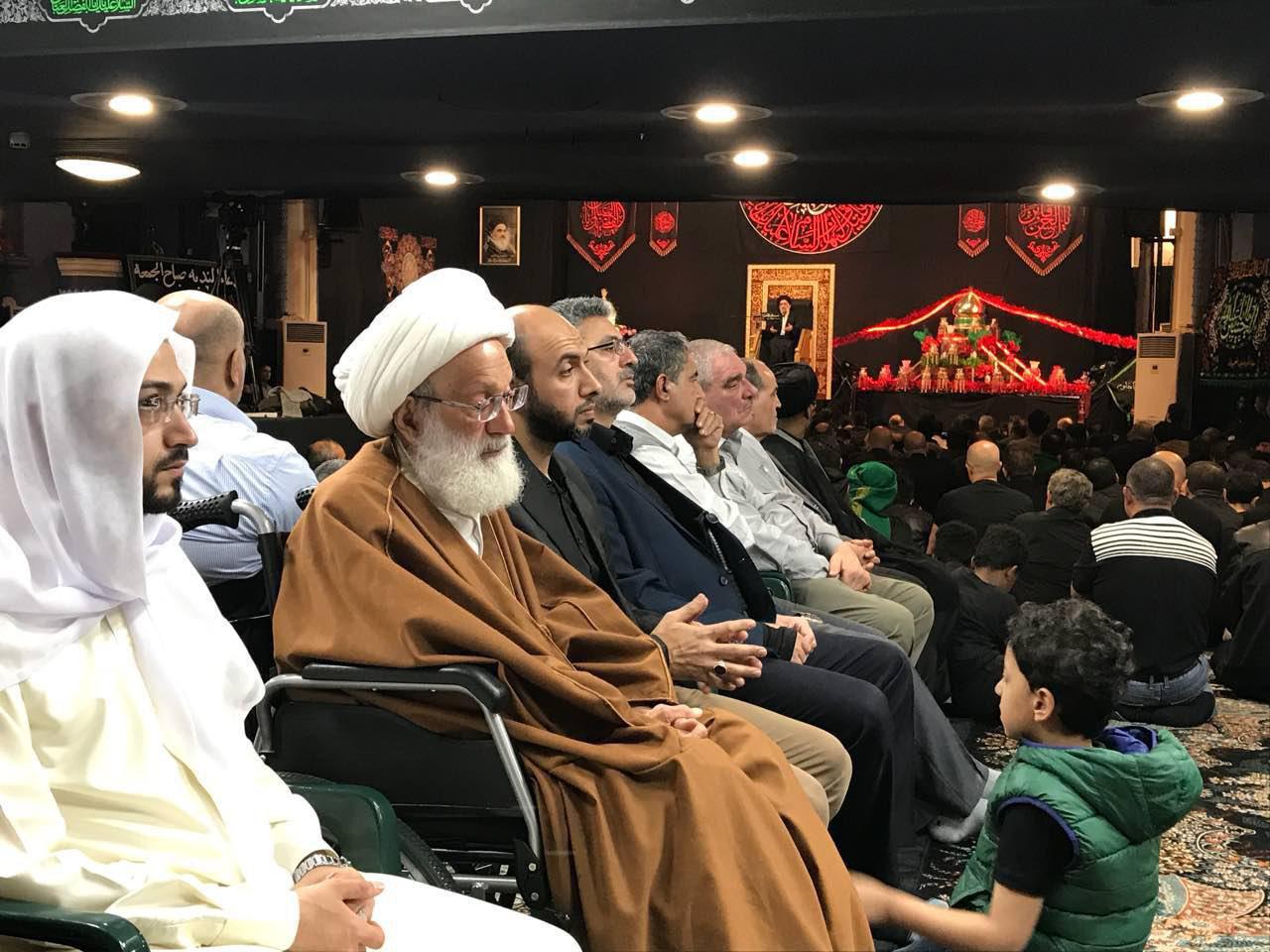 Photo of Prominent figures attend mourning ceremonies in Husseiniyat Rasool al-Adham