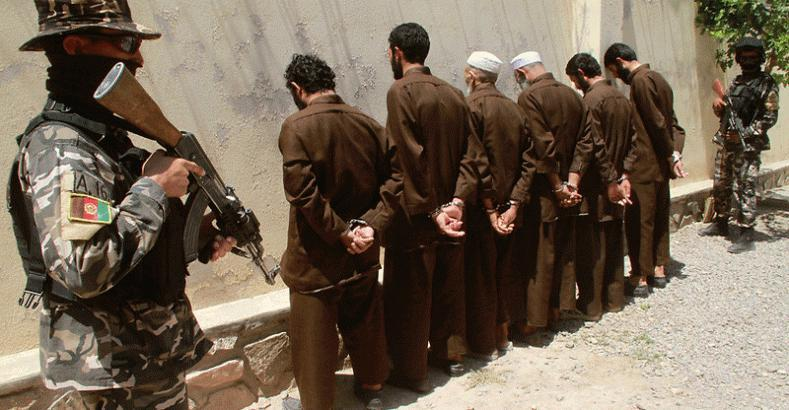 Photo of 26 ISIS militants arrested in Kabul city for planning attacks during Ashura Day