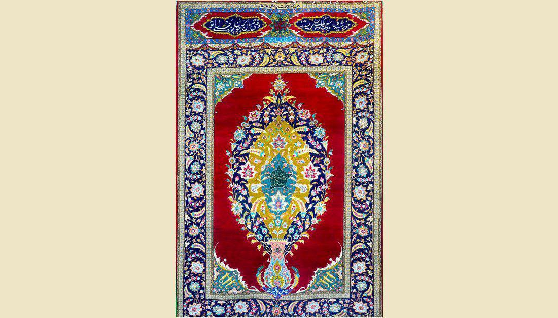 Photo of Imam Hussain Museum reveals rare rug that was placed near Imam Hussain's martyrdom site