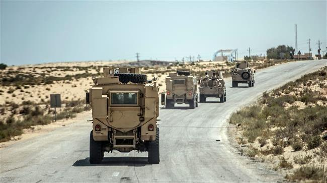 Photo of 52 suspected militants killed in Sinai, says Egypt army