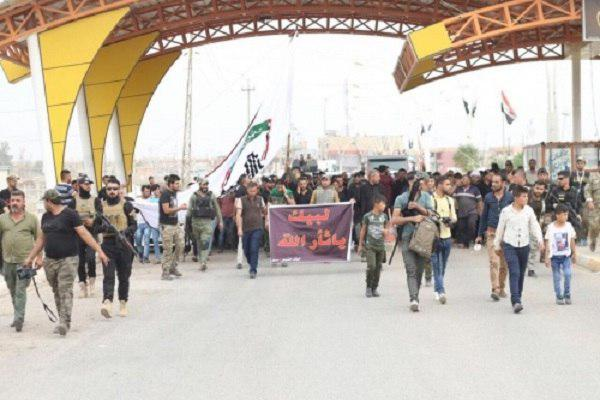 Photo of 1st convoy of Mosul pilgrims since fall of Daesh leave for Karbala