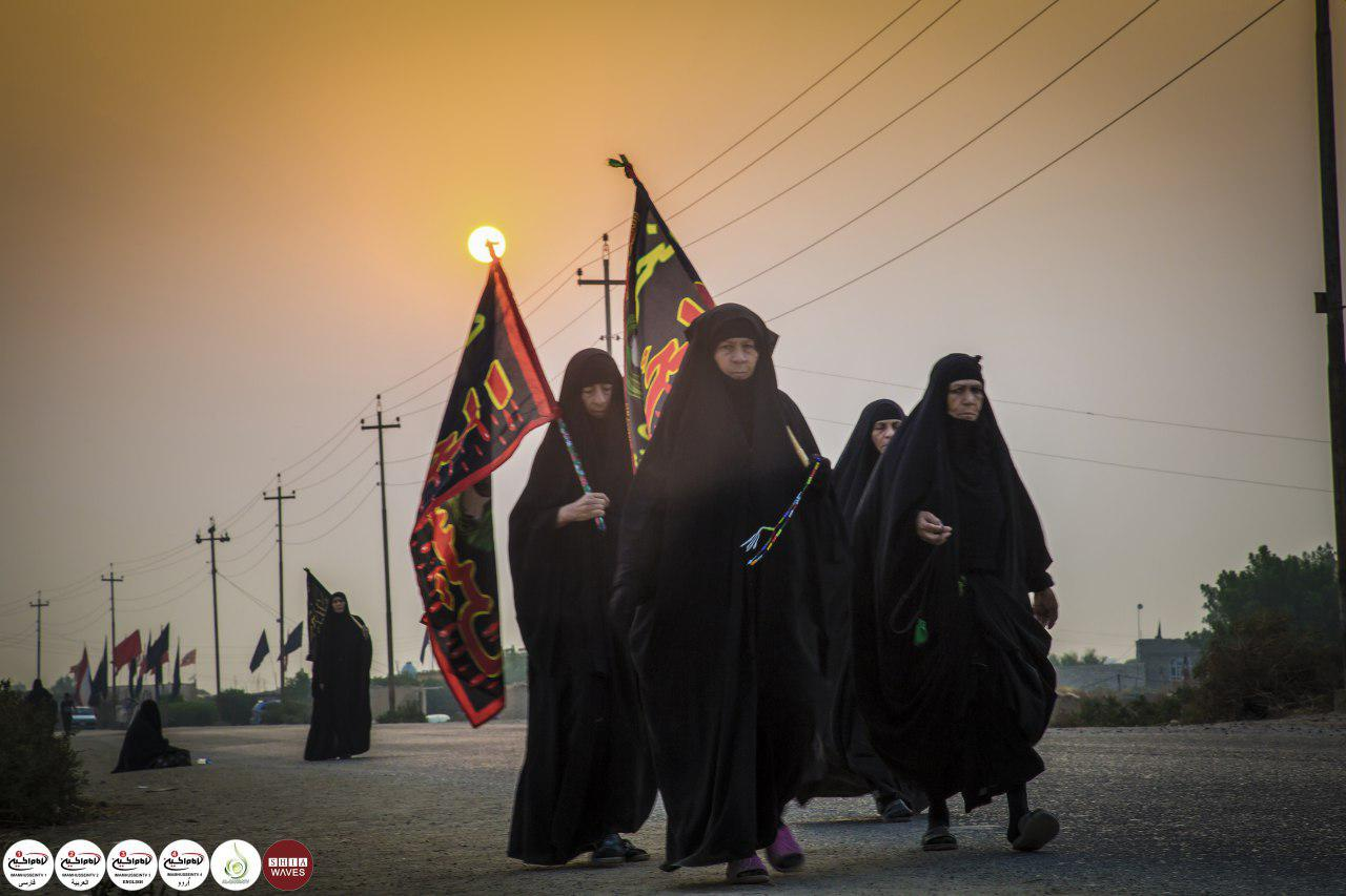 Photo of Lovers of Ahlulbait begin their march towards Karbala from southern Basra city
