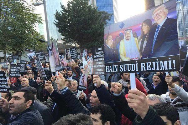 Photo of Rally held in Istanbul to condemn Saudi crimes in Yemen