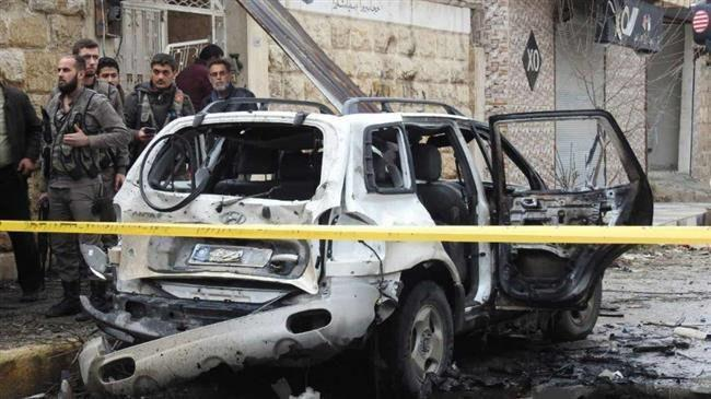 Photo of Car bomb attack kills one, injures 20 in northwestern Syrian town